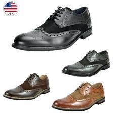 Mens Dress Shoes Breathable Lace up Oxfords Shoes Casual Shoes