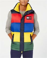 Tommy Hilfiger Oversized Colorblocked Down Puffer Vest Mens Medium New