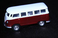 Kinsmart Volkswagen Classical Bus 1962 Wind Up Scale Model