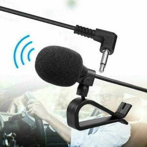 3.5mm Microphone Car Radio Stereo GPS DVD Bluetooth Audio 6External Mic7 A6M9