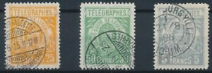 [39615] Luxembourg 1883 Telegraph Good lot Very Fine used stamps
