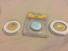 3 COINS UNFUNDED/BUYER FUNDED LEALANA like casascius MINT CONDITION