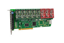 OpenVox A800P53 8 Port Analog PCI Base Card + 5 FXS + 3 FXO, Ethernet (RJ45)