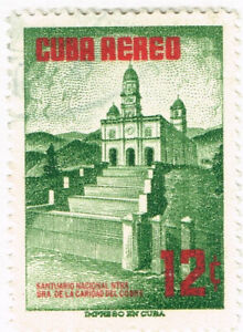 Havana Famous Architecture stamp 1957 MLH