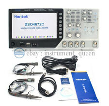 Hantek Dso4072c Usb Oscilloscope 2 Channels 70mhz Digital Osciloscopio Handheld