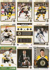 2012-13 Panini Score Boston Bruins Complete Team Set (23)