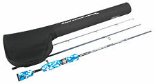 - Shakespeare 704h Slingshot Engage Spin Travel Rod Black & Blue 7 FT