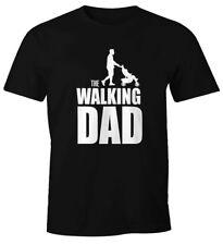 Mens T-Shirt the walking Dad Father Daddy Gift Fun Shirt moonworks ®
