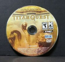 Titan Quest: Gold Edition (PC, 2007) Disc Only