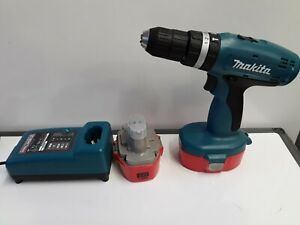 Makita 18volt Cordless Drill 8391D With Charger + 2 Good Batteries & Case