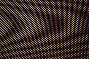 Japanese  Fabric Wool/Silk Purple dots Design 1003