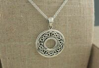 Sterling Silver Celtic Love Knot Pendant by Keith Jack Jewelry