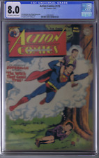 Action Comics #115 DC Pub 1947 CGC 8.0 (VERY FINE)