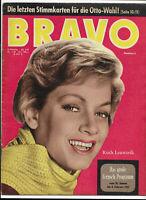 BRAVO Nr.5 von 1961 Ruth Leuwerik, Capucine, Jill St. John, Gina Lollobrigida...