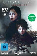 A Plague Tale: Innocence Key - PC Steam Aktion Spiel Download Code - DE/Weltweit