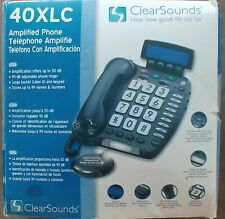 ClearSounds Amplified Speaker Phone Corded LCD Screen CS40XLC