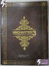 Uncharted 3 Guide Collector (Piggyback) avec l' OST NEUF NEW VERSION FRANÇAISE.