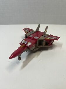 "Transformers ""G2"" Blitzwing Platinum reissue Hasbro G1 No Missiles"
