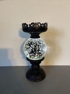 NEW 2021 Bath & Body Works 3 Wick Spooky Halloween Globe Candle Holder Pedestal