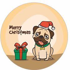 48, 40 mm Buon Natale Adesivi Carta Regalo Decorazione & Etichette di tenuta CH14