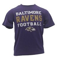 Baltimore Ravens Kids Youth Size NFL Official Athletic T-Shirt New With Tags