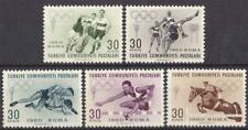 TURKEY 1960 ROME 60 SUMMER OLYMPIC GAMES MNH C1176