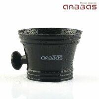 Anbbas Resin Shave Soap Brush Bowl Cup Mug Men's Durable Shaving Kit Black US