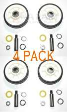 New listing 4 Pack - New 303373K Dryer Support Roller Wheel Kit Fits Maytag Amana Whirlpool
