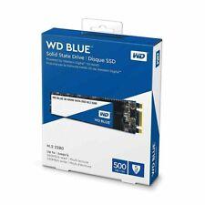 WD Blue 500 GB M.2 2280 3D NAND SATA III Internal SSD WDS500G2B0B