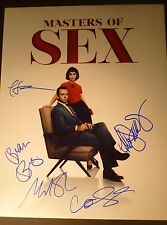 """MASTERS OF SEX Cast x5 Authentic Hand-Signed """"Michael Sheen"""" 11x14 Photo (PROOF)"""