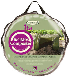 Haxnicks Space Saving Roll-Mix Composter 156ltr capacity