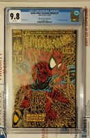 Spider-Man Facsimile Edition #1 CGC 9.8 Shattered Comics Gold Edition Variant