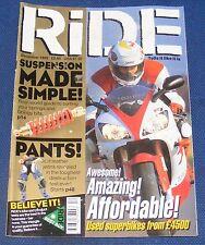 RIDE MAGAZINE DECEMBER 1999 - AWESOME! AMAZING! AFFORDABLE!