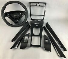 Mercedes AMG W203 C32 C55 Carbon Zierteile Lenkrad steering wheel interior trim