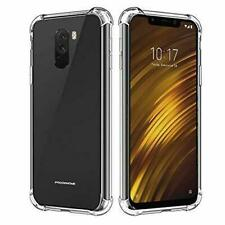 For Xiaomi Pocophone Poco F1 Case Shockproof Clear Gel Heavy Duty Tough Cover