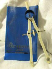 STAEDTLER  Masterbow Compass 23981 IVORY PLASTIC METAL sleeve Leads  DRAFTING