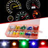 Mixed Color 40Pcs  T5 T10 LED 5050SMD Car Dashboard Instrument Indicator Lights