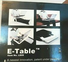 Laptop Lap Desk E-Table Bed Foldable Table With USB Cooling Fans