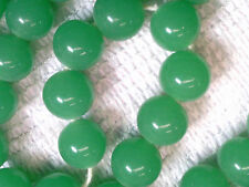 Vtg 100 JADE GREEN COLOR SPACER BEADS JAPAN GREAT ACCENT! #050812t