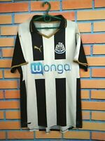 Newcastle United Jersey 2016 2017 Home LARGE Shirt Football Soccer Puma