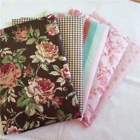 A4/50*160CM Baumwolle Stoff Rose Patchwork DIY Kleidung Tischdecke Haustextilien