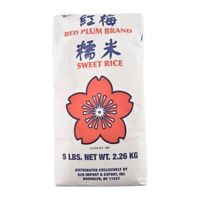 【Pack of 2】--RED PLUM Sweet Rice 5Lbs*2     Free Shipping