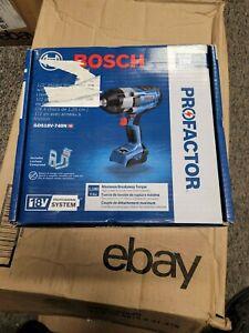 "BOSCH PROFACTOR GDS18V-740N 18V Cordless 1/2"" Impact Wrench  Same Day Shipping!"