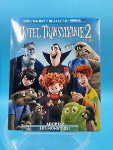 neuf film animation blu ray 3D hotel transylvanie 2