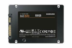 NEW Samsung 860 EVO 500GB SATA Solid State Drive MZ-76E500B/AM SSD w/ Warranty