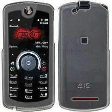 AMZER Clear Snap On Crystal Hard Case Cover for Motorola ROKR E8
