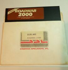 ROADWAR 2000 by SSI for Commodore 64 C64/128, Floppy only