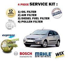 für Ford Focus 2.0TDCI 11/2003- > Service Kit Öl Luft Benzin POLLENFILTER SATZ