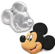 Mickey Mouse Pastel Jelly Pan Estaño Molde Molde Hornear Fiesta De Cumpleaños