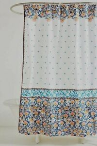 NWT Anthropologie Louisa Shower Curtain